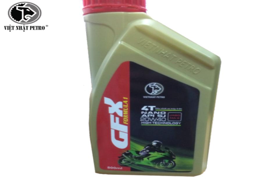 Dầu nhớt xe số GFX speed SJ 0,8,lít