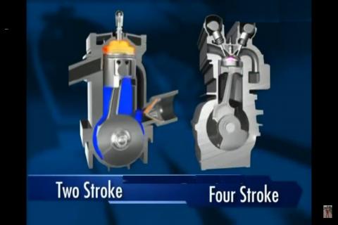 Sử dụng dầu nhớt của xe máy 2 thì cho xe máy 4 thì có được không?
